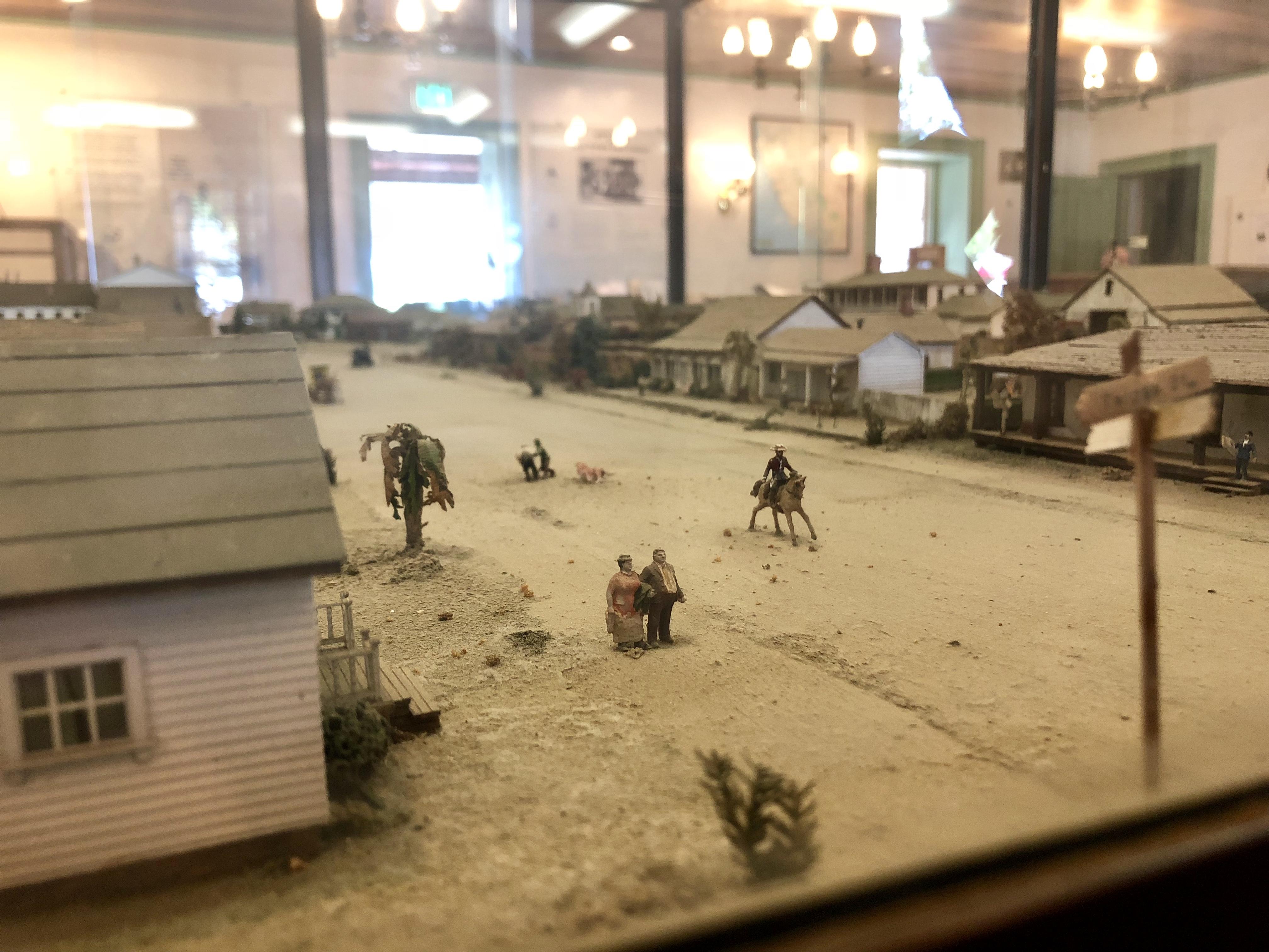 Old Town Diorama