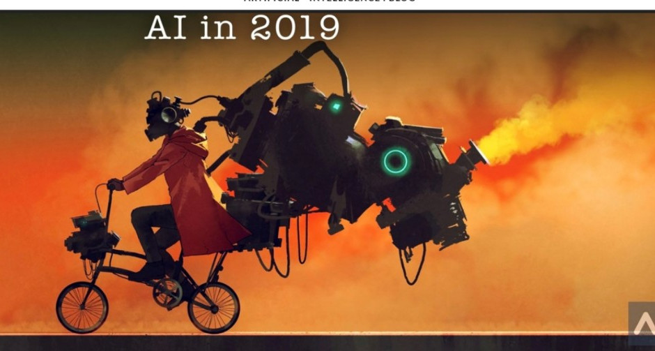 The State of Artificial Intelligence in 2019 -B-AIM PICK SELECTS