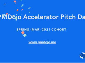 An Exciting Pitch Day Recap at PMDojo 🥂