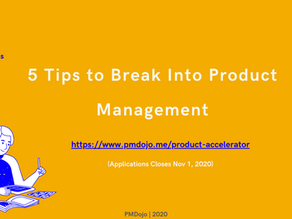 5 Tips to Break Into Product Management
