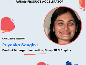Mentor Spotlight: Priyanka Sanghvi, Product Manager, Innovation, Sharp NEC Display