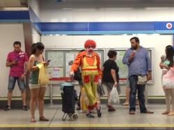 underground clown