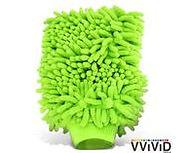 Lint-Free Chenille Microfiber Car Wash Mitt