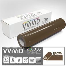 deco65 gloss brown craft vinyl