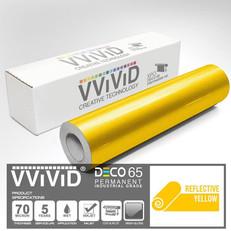 deco65 reflective yellow craft vinyl