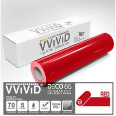 deco65 gloss red craft vinyl