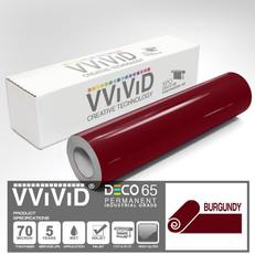 deco65 gloss burgundy craft vinyl