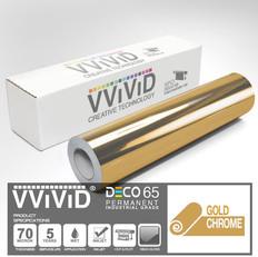 deco65 chrome gold craft vinyl