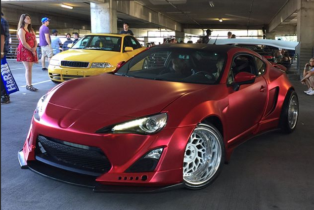 Lustre Chrome Red Scion TC 2