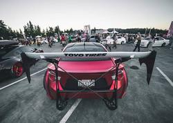 Lustre Chrome Red Scion TC 5