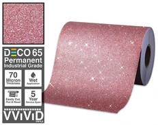 deco65 glitter red craft vinyl