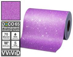 deco65 glitter purple craft vinyl