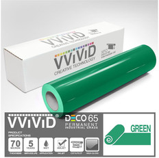 deco65 gloss green craft vinyl