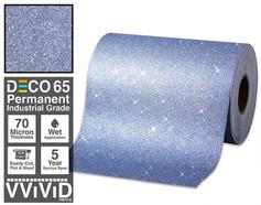 deco65 glitter blue craft vinyl