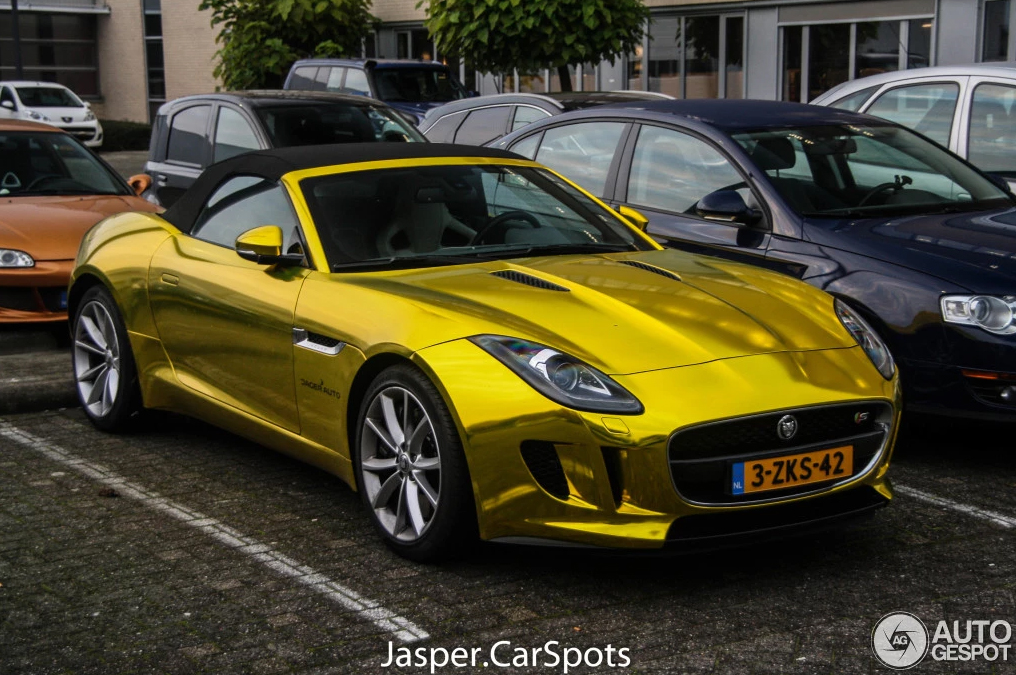 chrome gold jag 10