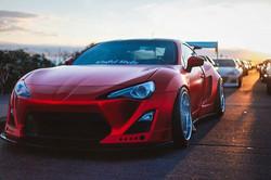 Lustre Chrome Red Scion TC 1