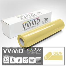 deco65 gloss cream craft vinyl