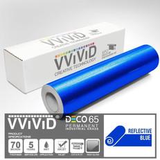 deco65 reflective blue craft vinyl