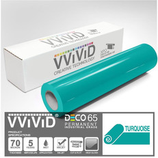 deco65 gloss turquoise craft vinyl