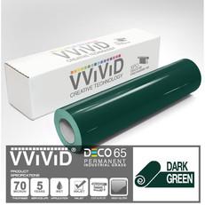 deco65 gloss dark green craft vinyl