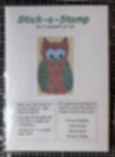 DiY Stamp Art Kit - Owl