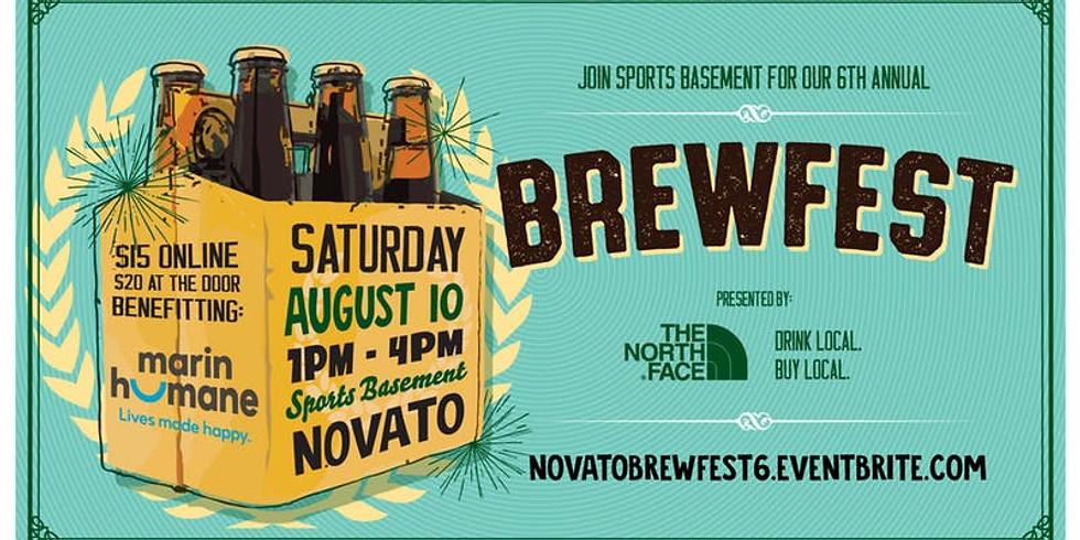 Novato Sports Basement Brewfest