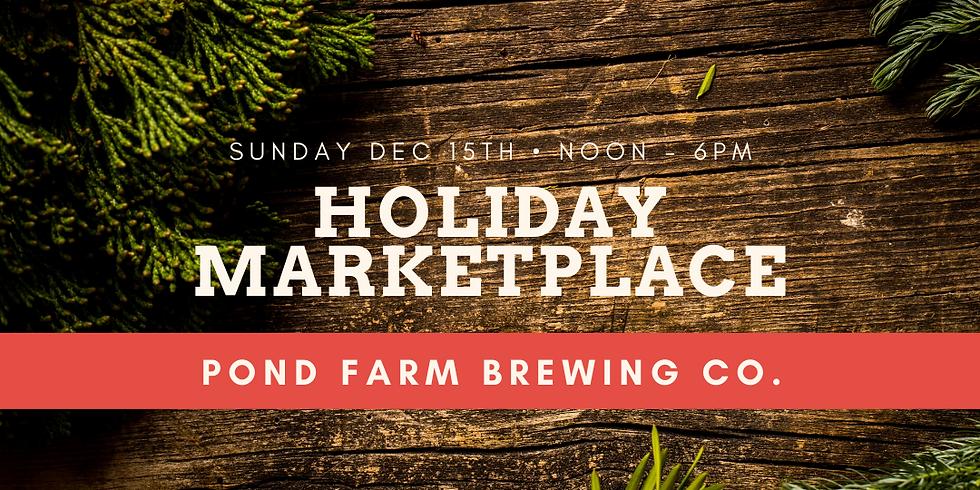 Holiday Marketplace @ Pond Farm