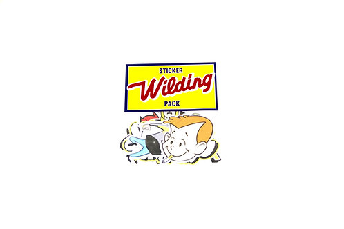 Benny Wilding Sticker pack 1