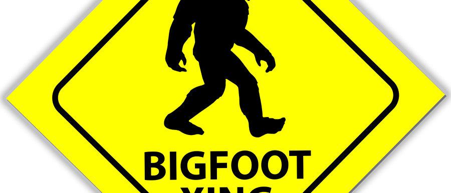 Bigfoot Crossing Canvas