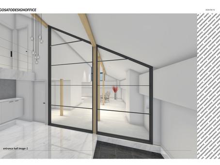 新規案件、M邸 リノベーション デザイン