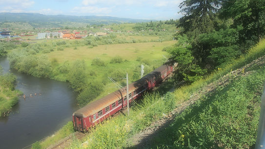 Pays natal, train, voyage,départ, retour