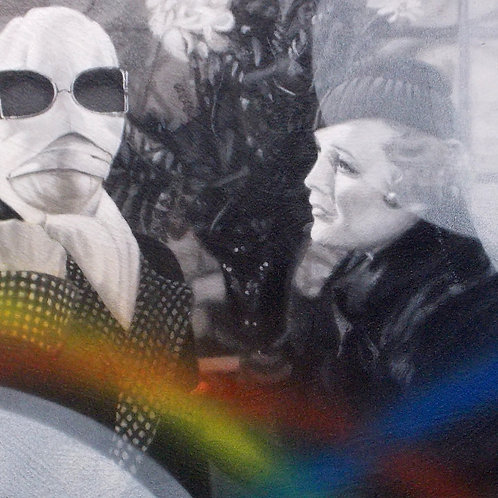 Invisible Man - Old Movie Series     -    22x38
