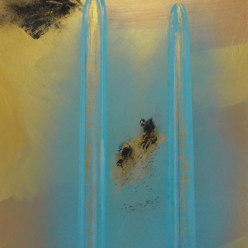 Two Waterfalls  -     34x4