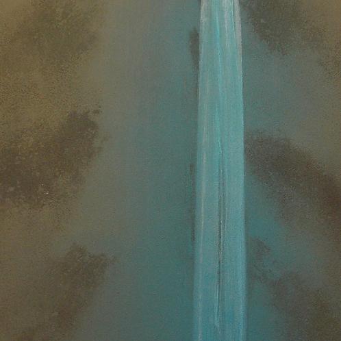 Waterfall - Homage To Michinobu II         -    28x47