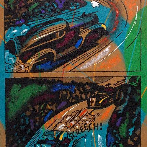KOAN SERIES - SCREECH 23x37
