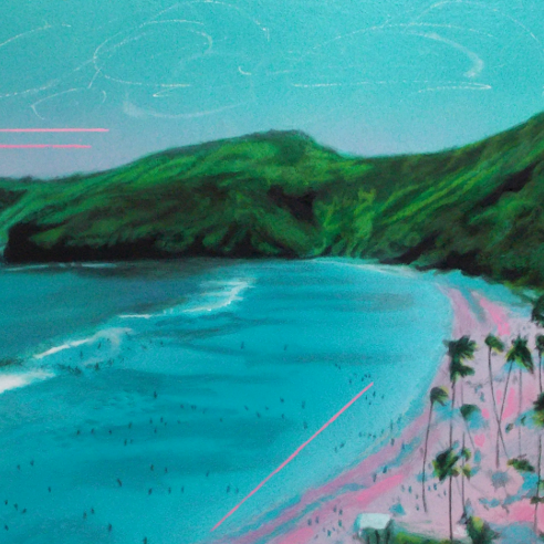 TRAVELOGUE SERIES - WAIKIKI - 27X49 NOV2020