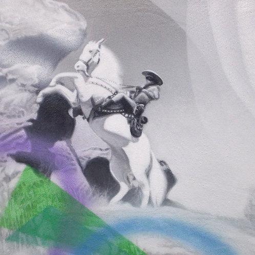 Lone Ranger - Old Movie Series       -     29x36