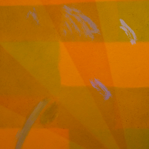 Abstract Yellow-Orange       -      32x35