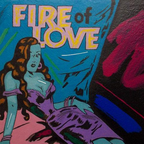 ZEN MASTER - FIRE OF LOVE 20X23