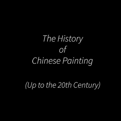 HISTORY OF CHINESE ART