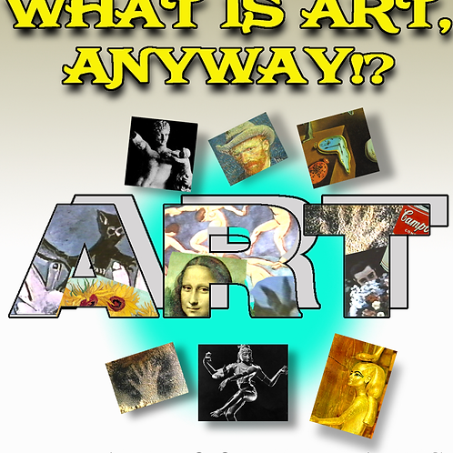 WHAT IS ART ANYWAY?  DVD