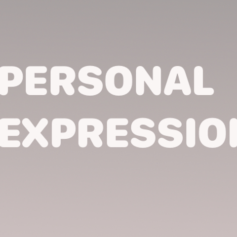PERSONAL EXPRESSION  DVD
