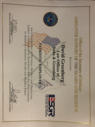 David Greenberg Awarded Patriotic Employer