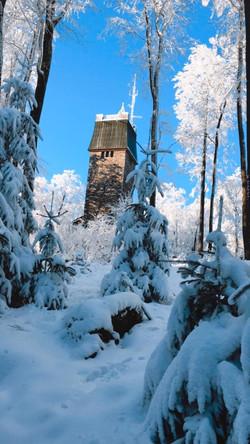 Kaiserturm Winter - 2 Quellen Tour