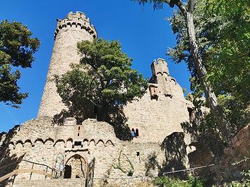 Turm Schloss Auerbach - Holzmichel Tour