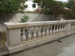 Restauration balustrade