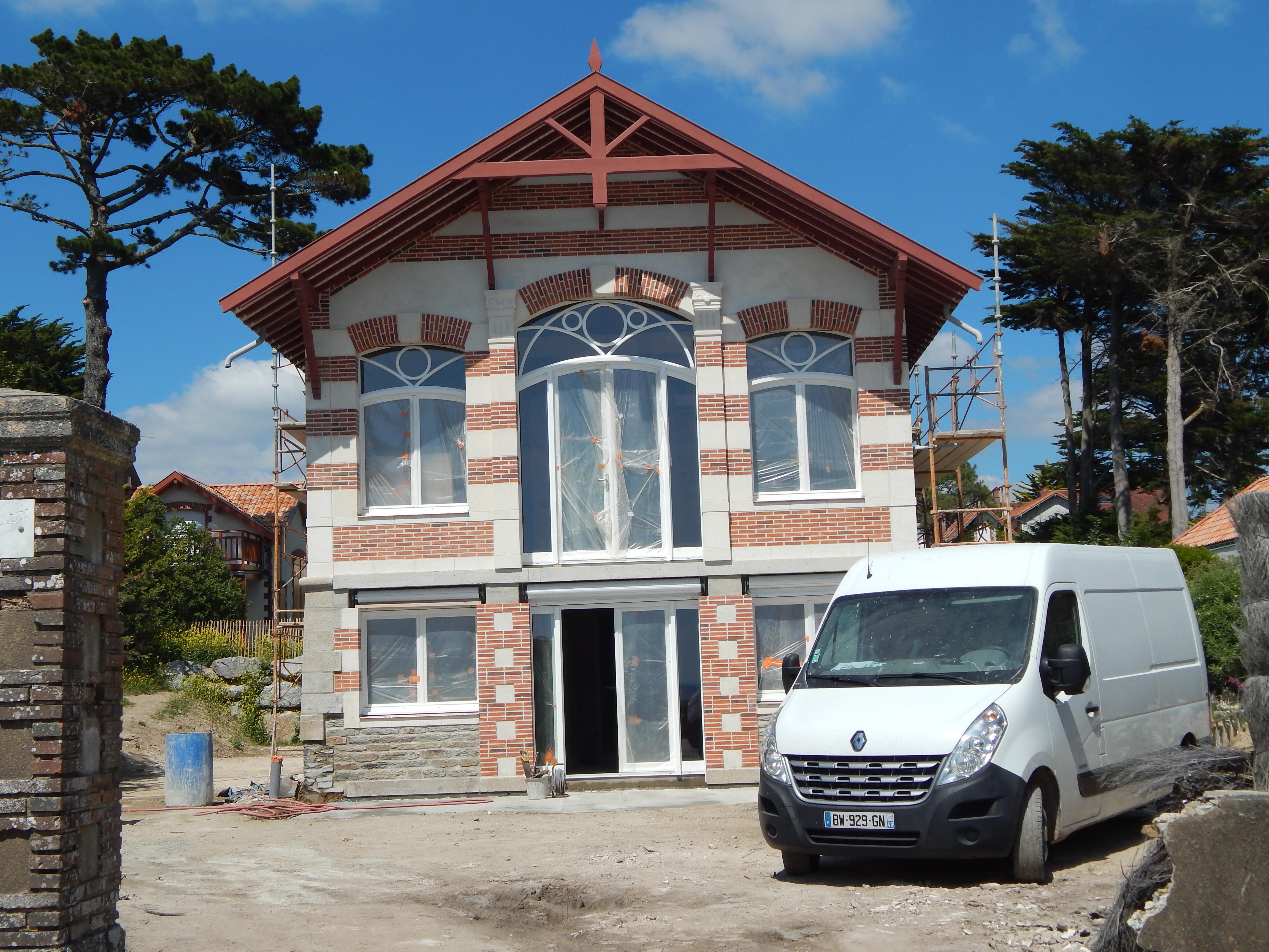 Reconstruction totale d'une façade