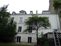 restauration facade pierre enduit
