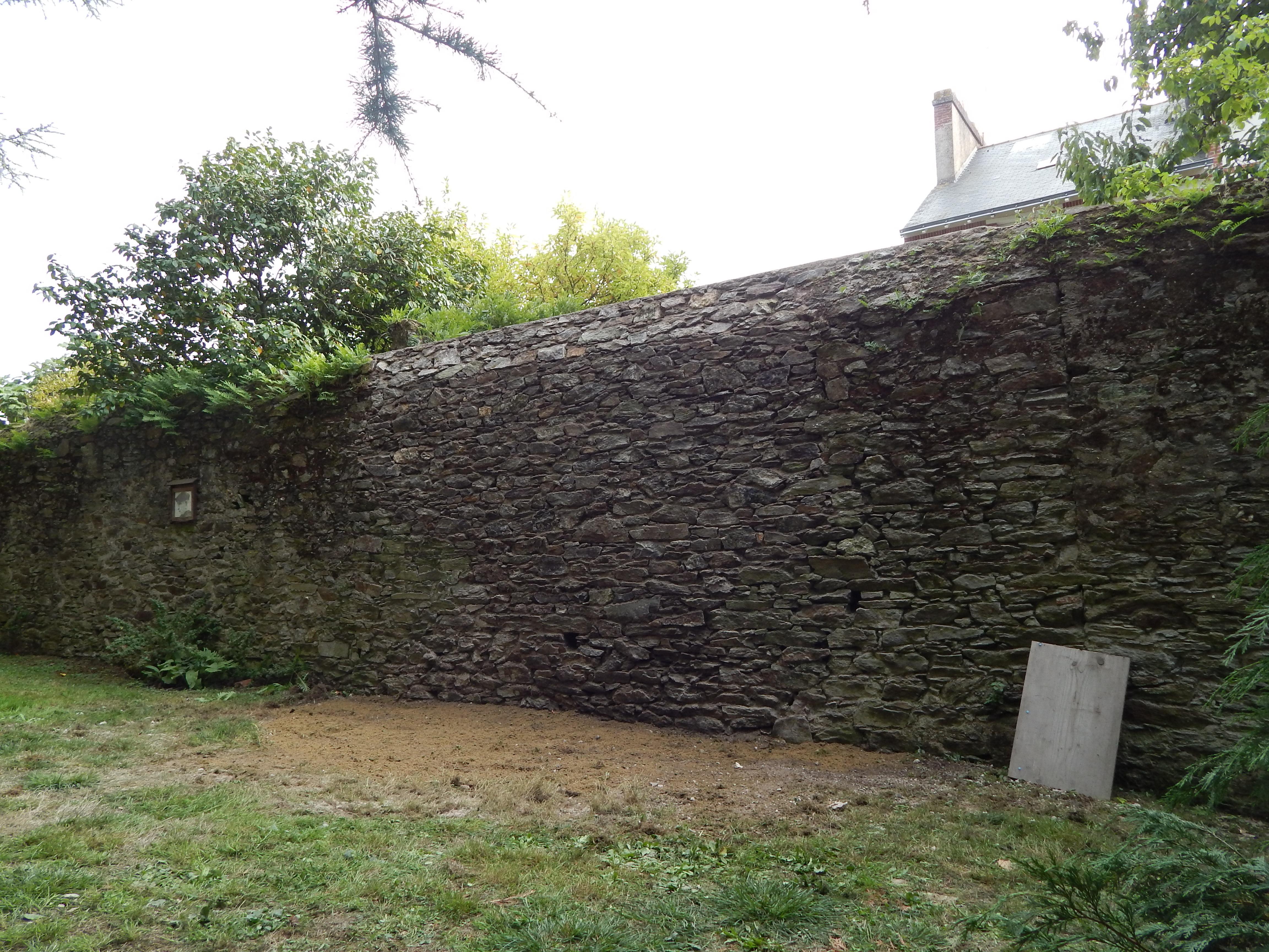 Restauration du mur