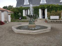Création Fontaine Granit